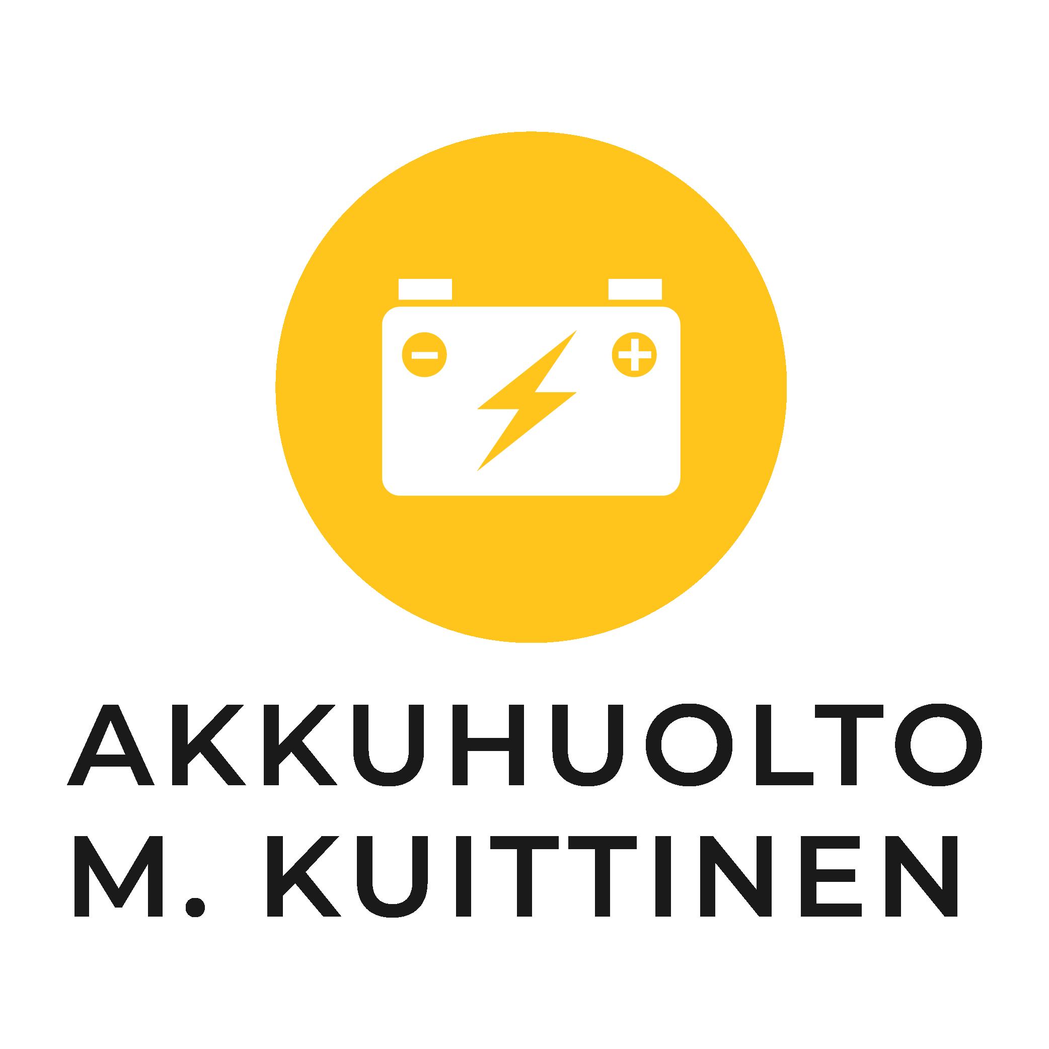 Akkuhuolto M. Kuittinen logo